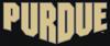 NCAA-Big 10-Purdue Boilermakers Alternate Script Logo