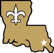 NFL-NFC-NO-Saints-alternate-louisiana-state-logo-1985-1999