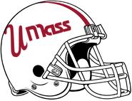 UMass 2020 White Alternate Helmet