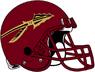 NCAA-ACC-Florida State Seminoles Garnet helmet & facemask