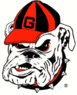 NCAA-SEC-Georgia Bulldogs 1964-present secondary logo
