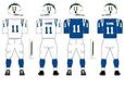 800px NFL AFC Throwback Uniform LA Chargers 1960