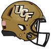 NCAA-2016 UCF Knights Gold helmet