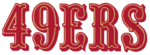 NFL-NFC-1972-2004 SF49ers Script Logo