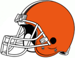 NFL-AFCN-Cleveland Browns-White Facemask-Right Side