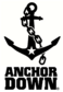 Anchor Down White logo