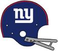 1961-1974 NY Giants helmet