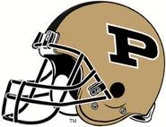 NCAA-Big 10-Purdue Boilermakers Helmet-Right side