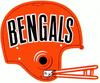 AFL-NFL-AFC-CIN-1970-1980 Bengals helmet logo