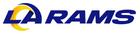 NFL-NFCW-LA Rams 2020 white background-logo & wordmark