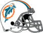 NFL-AFC-Helmet MIA 1974-1979 Helmet
