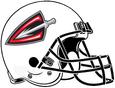 ArenaLeague-Cleveland Gladiators White Helmet 2