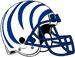 NCAA-AAC-Memphis Tigers white blue bengal Striped helmet