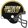 NCAA-Southern Miss-Helmet