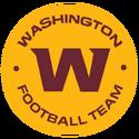 Washington Football Team-Maize full script team seal logo