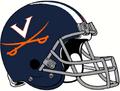 NCAA-ACC-2019 Virginia Cavs helmet
