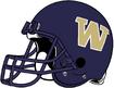 NCAA-Pac-12-Washington Huskies purple helmet-right side