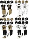 NCAA-ACC-Wake Forest Demon Deacons uniforms