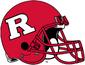 NCAA-Big 10-Rutgers Scarlet Knights Crimson helmet