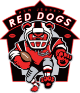 ArenaLeague-New Jersey Red Dogs logo