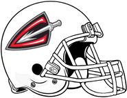 ArenaLeague-Cleveland Gladiators All White Helmet