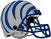 NCAA-AAC-Memphis Tigers silver blue bengal Striped helmet