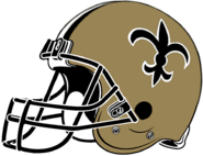 NFL-NFC-NO-1976-99 Saints helmet-Right side