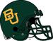 NCAA-Big 12-Baylor Bears Primary Green helmet