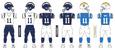 1200px NFL AFC Throwback Uniform LA Chargers 2004