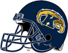 Kent State Golden Flashes Navy Blue helmet-Right side