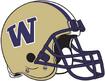 NCAA-Pac-12-Washington Huskies helmet