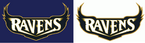 NFL-AFC-BAL-Ravens script logos 1996-98