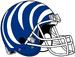 NCAA-AAC-Memphis Tigers blue white bengal Striped helmet