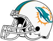NFL-AFC-MIA 2013 -Helmet- Right Side