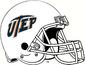 NCAA-C-USA-UTEP Miners White Helmet & facemask