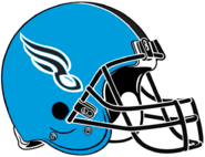 ArenaLeague-Philadelphia Soul Sky Blue Helmet