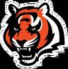 NFL-AFC-Bengals Tiger Head Mascot Logo