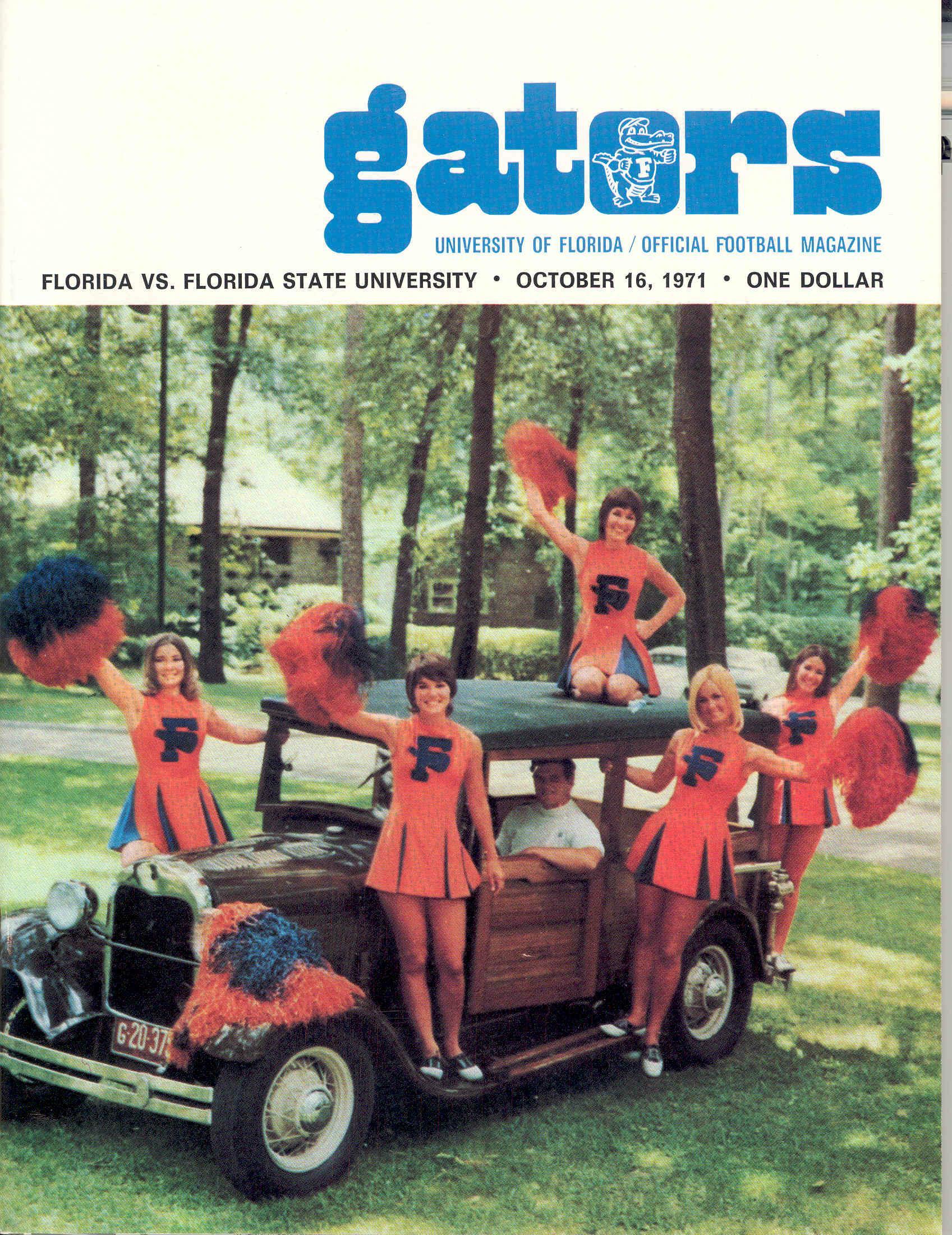 1971 Florida vs. Florida State