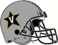 NCAA-ACC-Vanderbilt Commodores Silver Anchor Down helmet