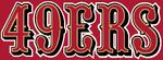 NFL-NFC-2005 49ers alt wordmark logo