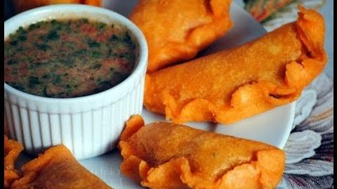Colombian Empanadas Recipe - How To Make Colombian Empanadas (Turnovers) - Sweetysalado
