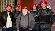 George R.R. Martin, Ryan Condal and friends