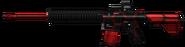 M417 Combat Red