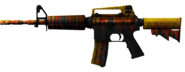 M4A1 Flaming