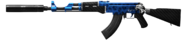 AK-47 Signed By Lynx