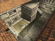 Piazza oblique aerial view