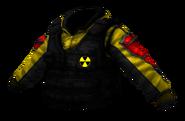 Colete de reconhecimento Radioativo