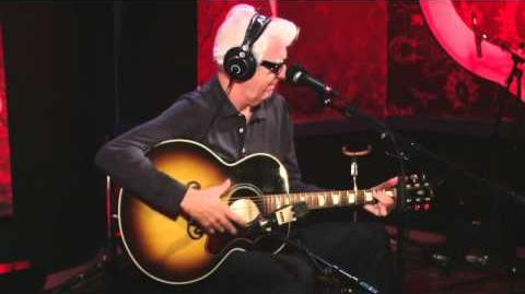 "Nick Lowe performs ""Peace, Love and Understanding"" in Studio Q"