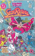 WONDER WOMAN AND THE STAR RIDERS COMIC BOOK (1)