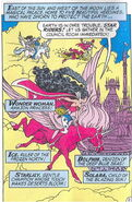 WONDER WOMAN AND THE STAR RIDERS COMIC BOOK (2)